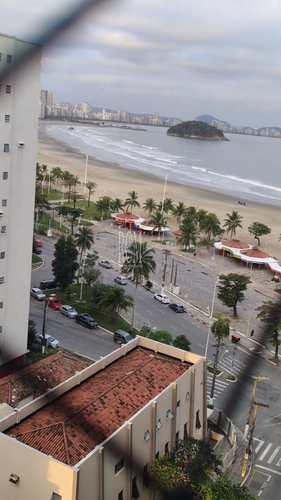 Apartamento, código 92511 em São Vicente, bairro Itararé