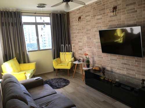 Apartamento, código 92713 em São Vicente, bairro Itararé