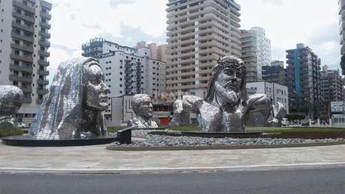Apartamento, código 397107 em Praia Grande, bairro Caiçara