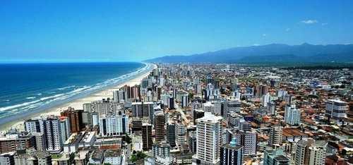 Apartamento, código 397110 em Praia Grande, bairro Real