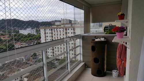 Apartamento, código 397780 em Santos, bairro Vila Belmiro