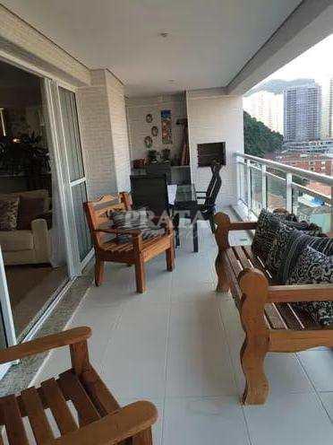 Apartamento, código 397939 em Santos, bairro Marapé