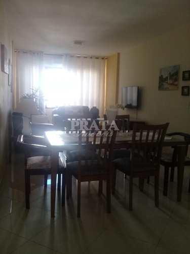 Apartamento, código 398018 em São Vicente, bairro Centro