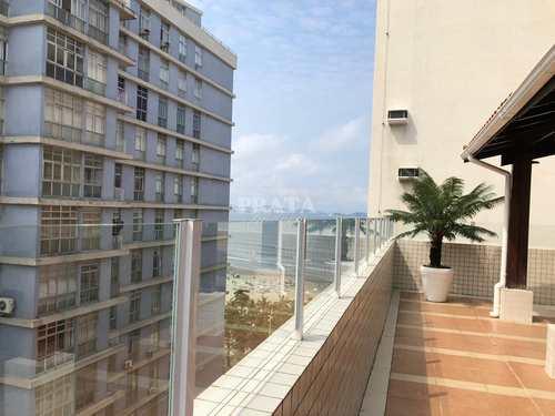 Apartamento, código 398087 em São Vicente, bairro Itararé