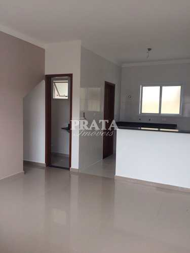 Sobrado de Condomínio, código 398397 em São Vicente, bairro Vila São Jorge