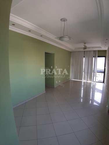 Apartamento, código 398542 em São Vicente, bairro Centro