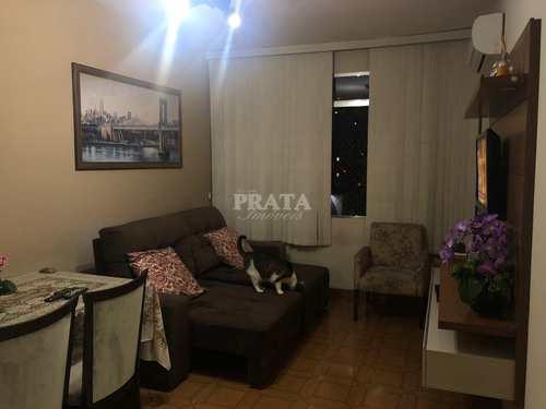 Apartamento, código 398808 em Santos, bairro Embaré