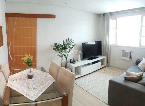 Apartamento, código 398854 em São Vicente, bairro Itararé