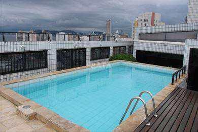 Flat, código 398908 em Santos, bairro Ponta da Praia
