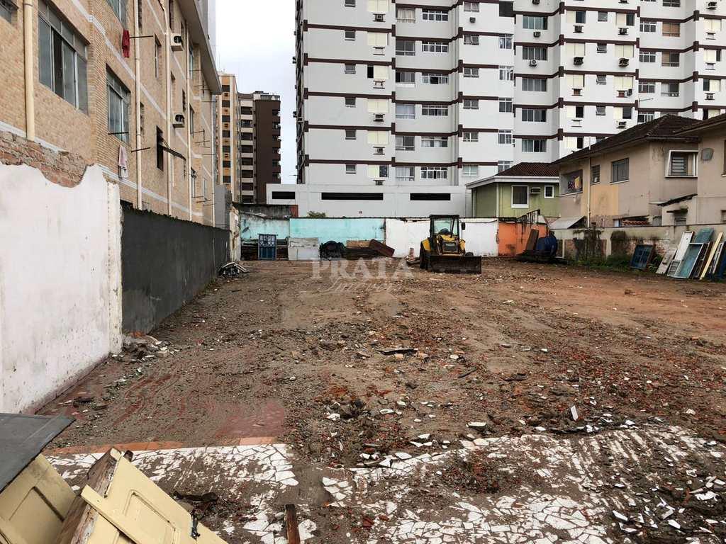 Terreno Comercial em Santos, no bairro Estuário