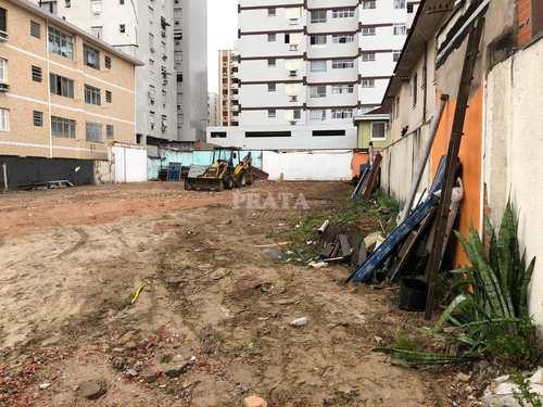 Terreno Comercial, código 399064 em Santos, bairro Estuário