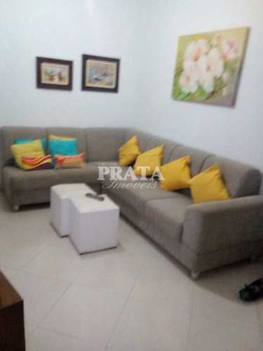 Apartamento, código 400214 em Santos, bairro Boqueirão