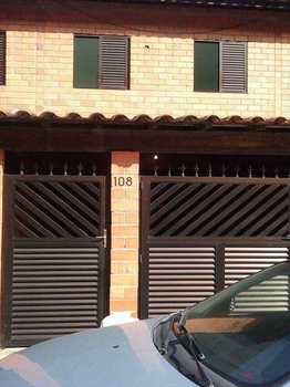 Sobrado de Condomínio, código 54609800 em São Vicente, bairro Vila Voturua