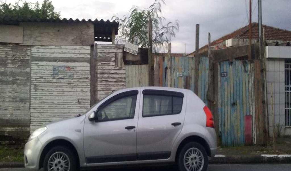 Terreno em Santos, bairro São Jorge