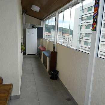 Cobertura em São Vicente, bairro Gonzaguinha