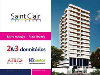 Apartamento, código 54466600 em Praia Grande, bairro Aviação