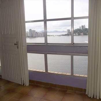 Apartamento em São Vicente, bairro Morro dos Barbosas