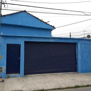 Galpão em São Vicente, bairro Catiapoa