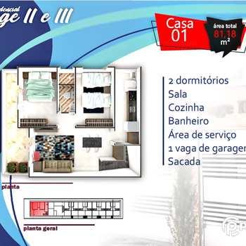 Casa em Praia Grande, bairro Anhanguera