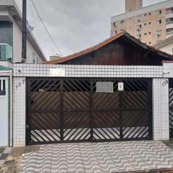 Sobrado em São Vicente, bairro Catiapoa