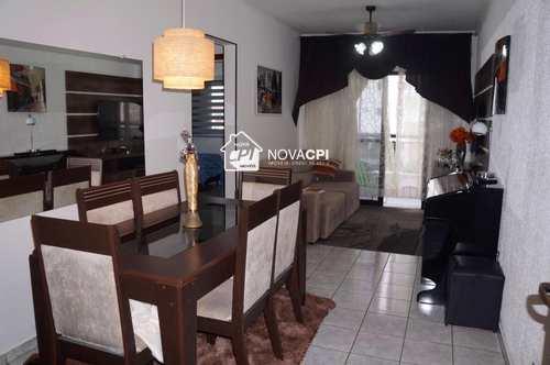 Apartamento, código 0102408500 em Praia Grande, bairro Guilhermina