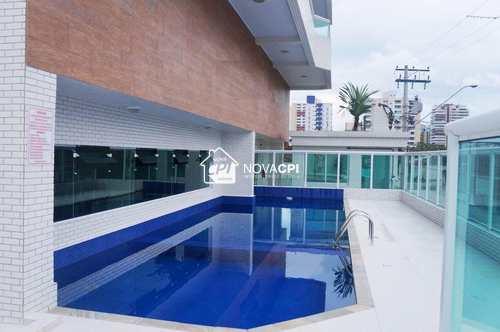 Apartamento, código 0102414500 em Praia Grande, bairro Guilhermina