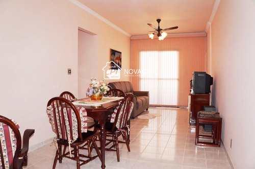 Apartamento, código 0102421100 em Praia Grande, bairro Guilhermina