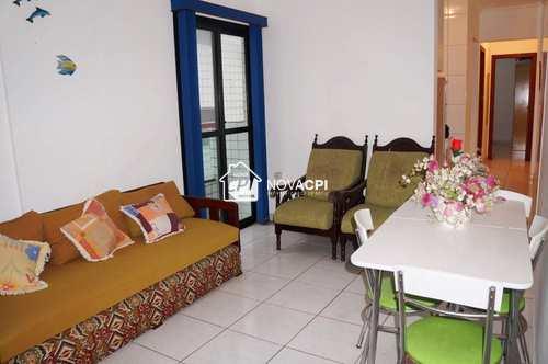 Apartamento, código 0101403000 em Praia Grande, bairro Guilhermina