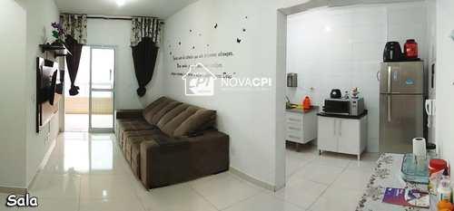 Apartamento, código 0101409400 em Praia Grande, bairro Guilhermina