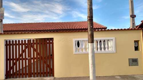 Casa, código 047/57 em Itanhaém, bairro Jardim Edel