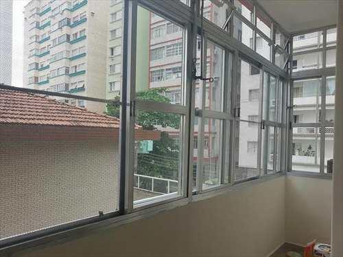 Apartamento, código 1001591300 em São Vicente, bairro Centro