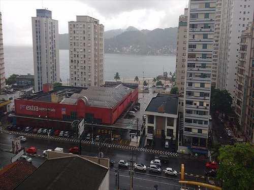 Apartamento, código 10083900 em São Vicente, bairro Centro