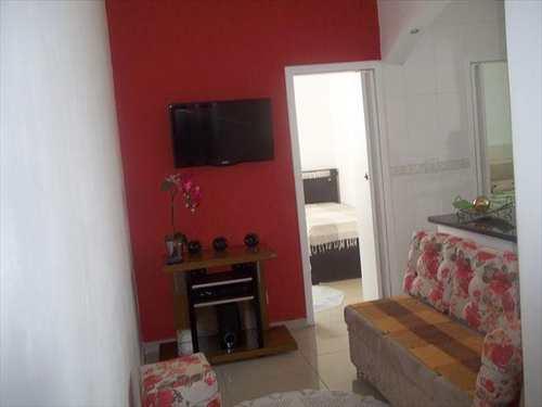 Apartamento, código 10068700 em São Vicente, bairro Centro