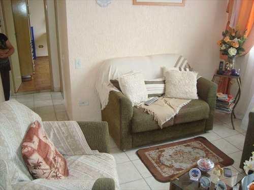 Apartamento, código 10064700 em São Vicente, bairro Vila Nossa Senhora de Fátima