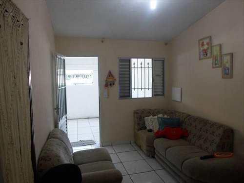 Casa, código 10056000 em São Vicente, bairro Conjunto Residencial Humaitá