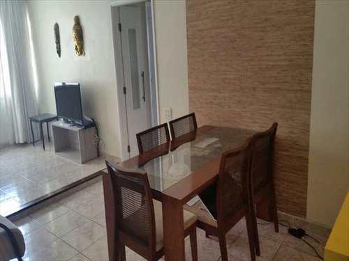 Apartamento, código 10038400 em São Vicente, bairro Catiapoa