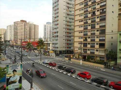 Apartamento, código 1001600 em São Vicente, bairro Centro