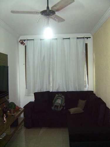 Apartamento, código 915600 em São Vicente, bairro Centro