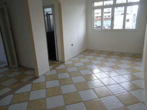 Apartamento, código 874300 em São Vicente, bairro Centro
