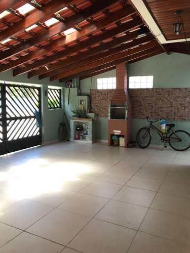 Sobrado, código 870100 em São Vicente, bairro Esplanada dos Barreiros