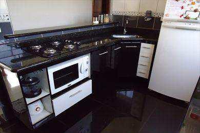 Apartamento, código 670600 em São Vicente, bairro Jardim Guassu