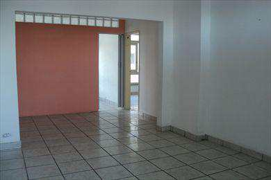 Apartamento, código 639400 em São Vicente, bairro Centro