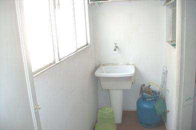 Apartamento, código 480100 em São Vicente, bairro Itararé