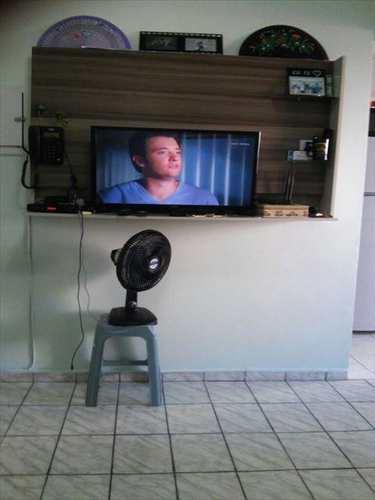 Sala Living, código 456100 em São Vicente, bairro Itararé