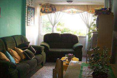 Apartamento, código 408800 em São Vicente, bairro Centro