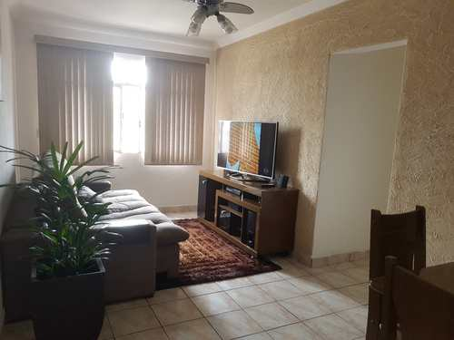 Apartamento, código 1001591386 em São Vicente, bairro Jardim Independência