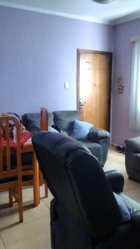 Apartamento, código 1001591408 em São Vicente, bairro Centro