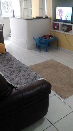 Apartamento, código 1001591447 em São Vicente, bairro Itararé