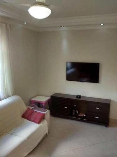 Apartamento, código 1001591566 em São Vicente, bairro Jardim Independência
