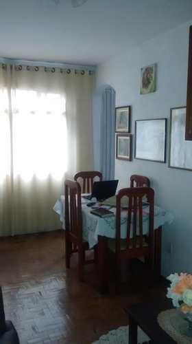 Apartamento, código 1001591725 em São Vicente, bairro Jardim Independência